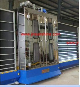 Glass Cleaning Machine/ Float Glass Cleaning Machine with Open Top Structure pictures & photos
