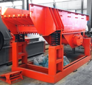 Uniform Feeding Vibrating Feeder for Stone Crusher pictures & photos