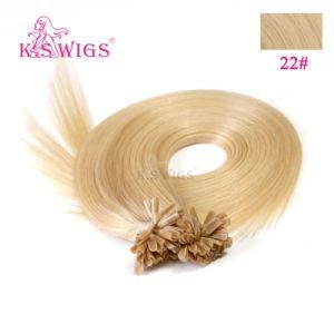 High Quality U-Tip Keratin Hair Pre-Bonded Human Hair Extension pictures & photos