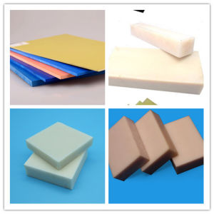 High Quality Colorful Extruded Nylon Sheet/PA pictures & photos