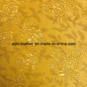 Artificial PVC Leather Used for Decorative and Chair