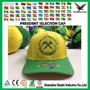 Manufacture Embroider Logo Cheap Councillor Election Cap pictures & photos