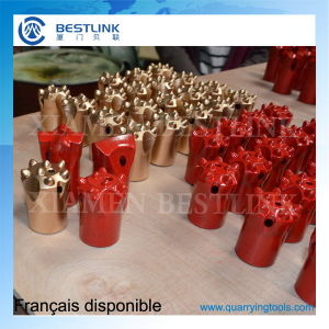 Tungsten Carbide Small Hole Drilling Button Bits for Rock Exploitation pictures & photos