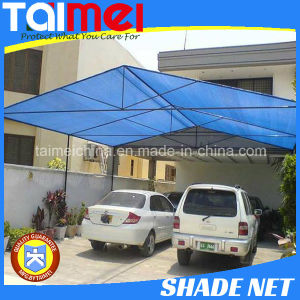 60~350GSM HDPE Knitted Green/Beige/Other Color Car Shade Net pictures & photos