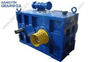 Jiangyin Gear Box Jhm Single Screw Extrusion Rubber and Plastic Gearbox pictures & photos