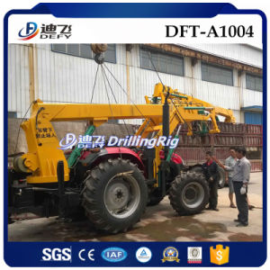 Dft-A1004 Screw Borehole Drilling and Piling Rigs pictures & photos