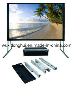 Fast Folding Frame Projection Screen, Inflatable Rear Projection Screen (DHFFPS-042)