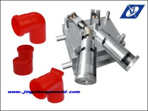 Thick Wall Collapsible Core Pipe Fitting Mould pictures & photos