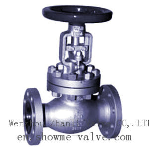 Cast/Carbon Steel API Bellows Seal Globe Valve Awj41h pictures & photos