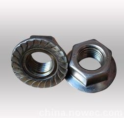 China Good Quality Hex Flange Nuts pictures & photos