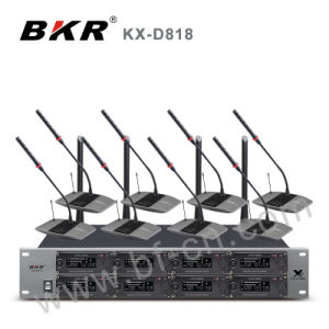 Kx-D818 Eight Channel Conference Microphone System
