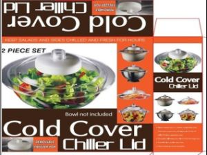 Cold Cover Chilller Bowl Plastic Lid (TV111) pictures & photos