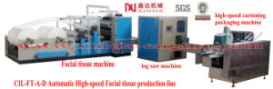 Automatic High-Speed Facial Tissue Production Line pictures & photos