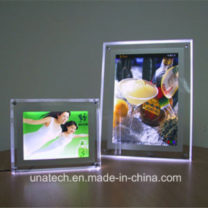 Advertising Edge Light LED Hanging Crystal LED Light Box pictures & photos
