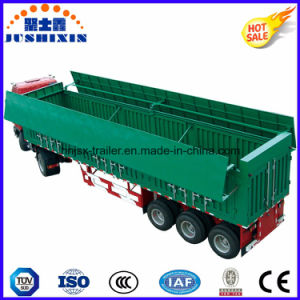 Heavy Duty End Dump Truck Trailers, Hydraulic Tipper Semi Trailer, Tipping Dump Trailers pictures & photos