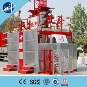 Sc200/200 Construction Passenger Elevator Buidling Construction Material Lift pictures & photos