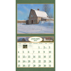 2015 New Year Monthly Wall Calendar Printing pictures & photos