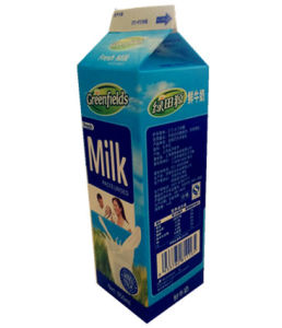 950ml Gable Top Carton for Fresh Milk pictures & photos