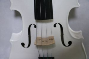 Colourful Plywood Violin White Violin for Beginners pictures & photos