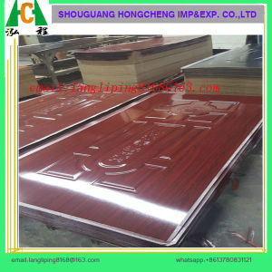 HDF Door Skin for 3mm Melamine Door Skin pictures & photos