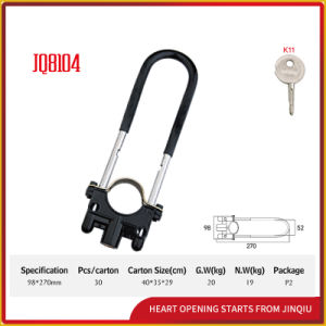 Jq8104 High Quality Motorcycle Lock U Shape Locks pictures & photos
