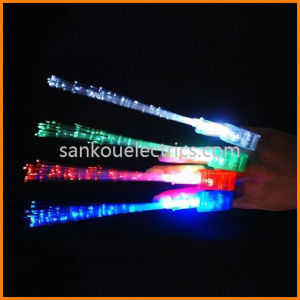 Flashing Finger Light with Fiber, Flashing Fiber Optic Finger Light, Laser Finger Beams, Flashing Finger Light, LED Finger Beams