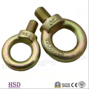 Yellow Zinc Plated Drop Forged DIN580 Eye Bolts of Rigging pictures & photos