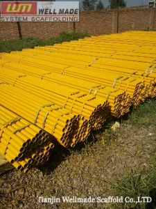 Q235 Carbon Welded Scaffold Tube|Scaffolding Pipe pictures & photos