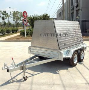 Tradesman Top Trailer/Canopy Trailer/Tandem Trailer (SWT-TTT85) pictures & photos