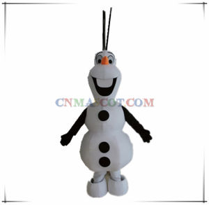 Good Sale Frozen Snowman Mascot for Sale