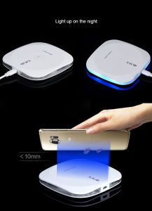 Quick Design Wireless Fast Charging Pad Wireless Charger for Samsung pictures & photos