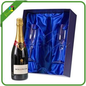 Luxury Paper Champagne Wine Bottle Glass Packaging Box pictures & photos