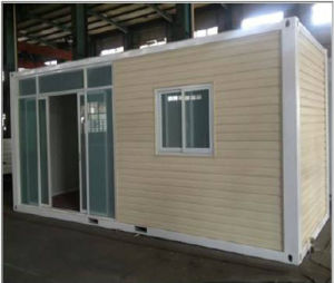 Steel and Metal Framed Container House with Bathroom pictures & photos