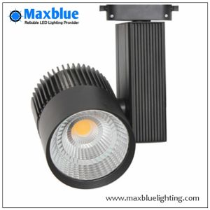Hot 35W White/Black LED COB Track Lights for Shop pictures & photos