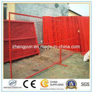 Coated Yellow Powder 1830mm X 3000mm Canadan Temporary Construction Fence pictures & photos