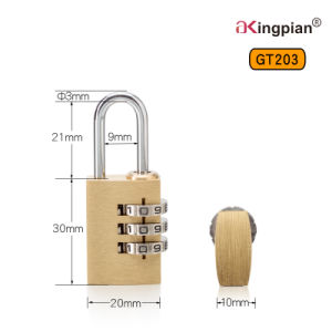 Small Brass Digital and Code Lock pictures & photos