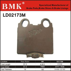 Adanced Quality Brake Pad (D2173M) pictures & photos