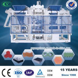 Double Hopper Cement Block Machine Qt8-15