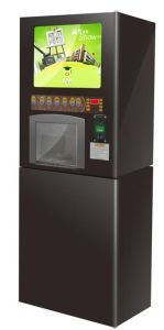 Coffee Vending Machine with 17 Inches LCD (F302Y) pictures & photos