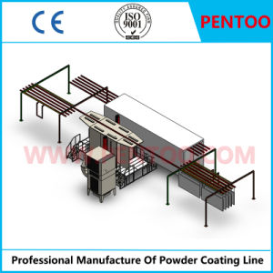 Electrostatic Powder Coating Line for Painting Glass Bottles pictures & photos