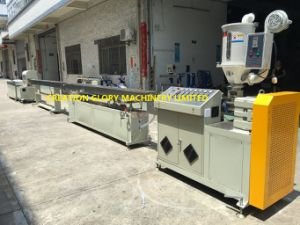 High Quality Medical Transfusion Pipe Plastic Extrusion Line pictures & photos