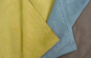 Suede Fabric for Cloth Thread and Zipper pictures & photos
