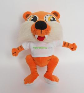 Factory Price Bespoke Plush Tiger with Shirt Custom Logo Printing pictures & photos