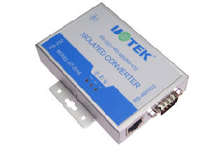 Commercial External-Mounted Converter From RS-232 to RS-485/RS-422 (UT-216)