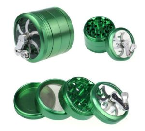 Bontek 4 Parts Metal Tobacco Herb Grinder pictures & photos