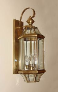 Pw-19353 Copper Wall Lighting with Glass Decorative pictures & photos