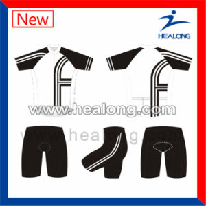 Healong Hot Sale Customize 3D Digital Printing Cycling Jerseys pictures & photos
