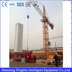 Boom Length Luffing Jib Tower Crane Qtz100 pictures & photos