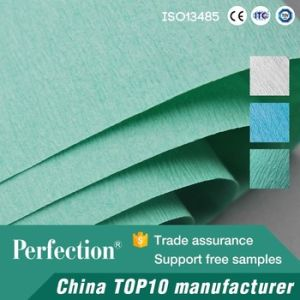 Popular Green Sterilization Crepe Paper pictures & photos