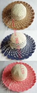 Paper Straw Wide Brim Hat /Multicolor Hat/Sun Hat (DH-LH9122) pictures & photos